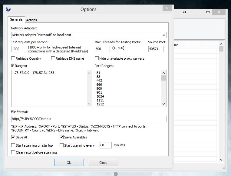http proxy scanner