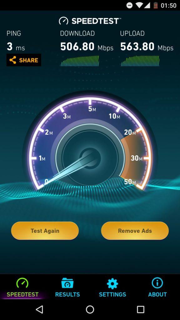 Labai galingas routeris WRT1900AC v2 apžvalga 6