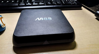 Biudžetinis M8S Android TV priedėlis 9