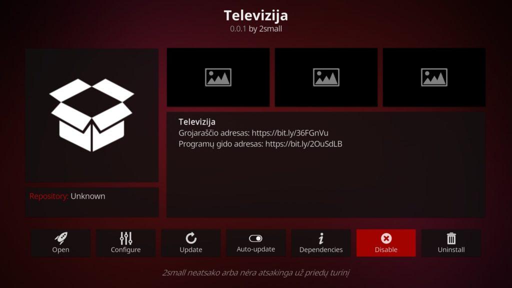 Lietuviški kanalai naudojant Kodi + mini archyvas 3